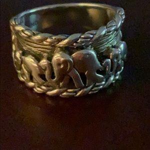 Jai sterling elephant ring